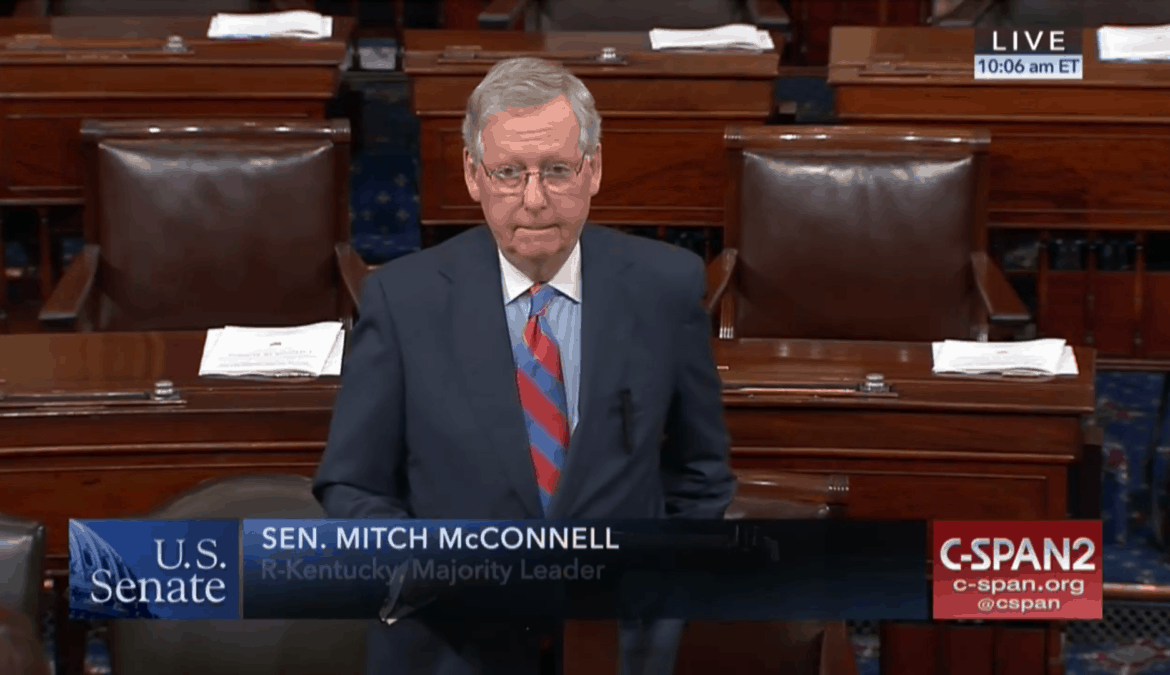 McConnell Honors Kentucky Co-Ops, Hurricane Relief Efforts