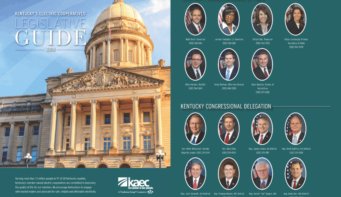 2018 Kentucky Legislative Guide