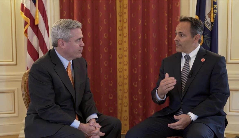 Gov. Matt Bevin Explains Pension Plan, Special Session 'Soon'