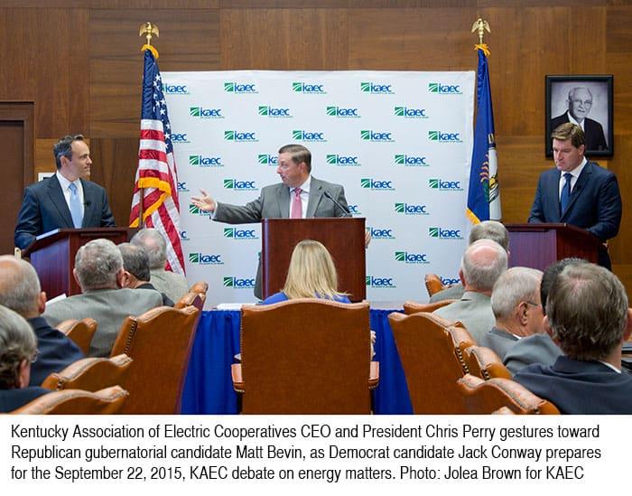 KAEC Governor's Debate On Energy