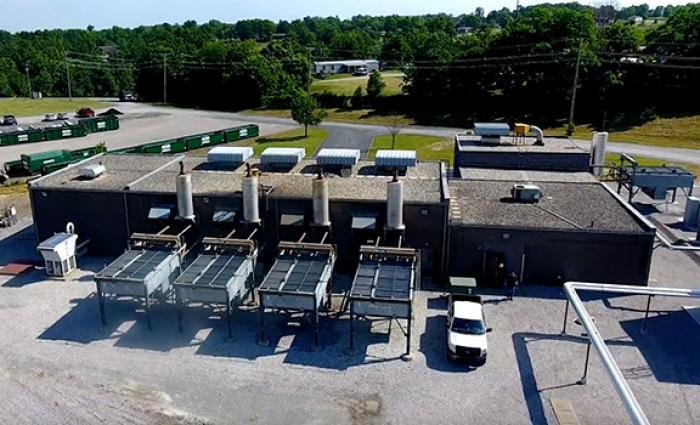 Green Energy Power Plant Expansion Dedication