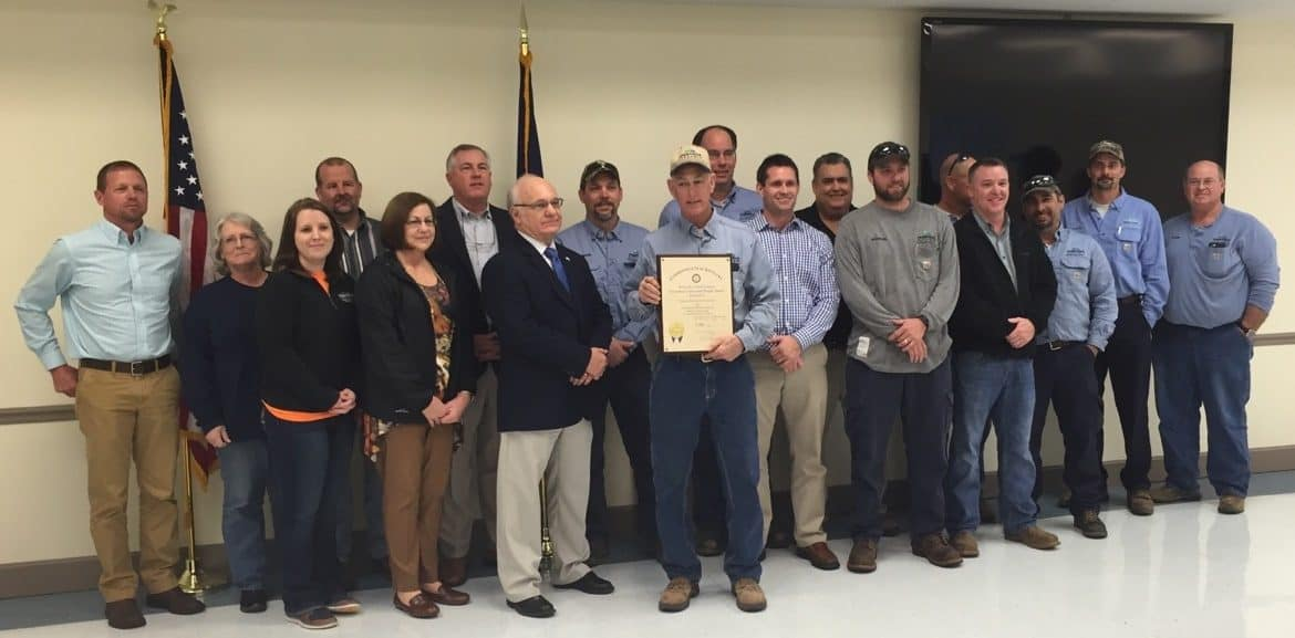 Pennyrile Electric Presented Governor's Safety And Health Award