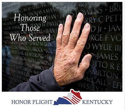 Honor Flight Sponsored By Kentucky's Touchstone Energy Cooperatives