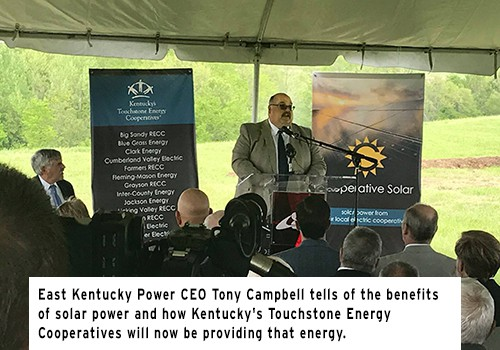 Ground Breaking For 60-Acre Solar Farm In Clark County, KY