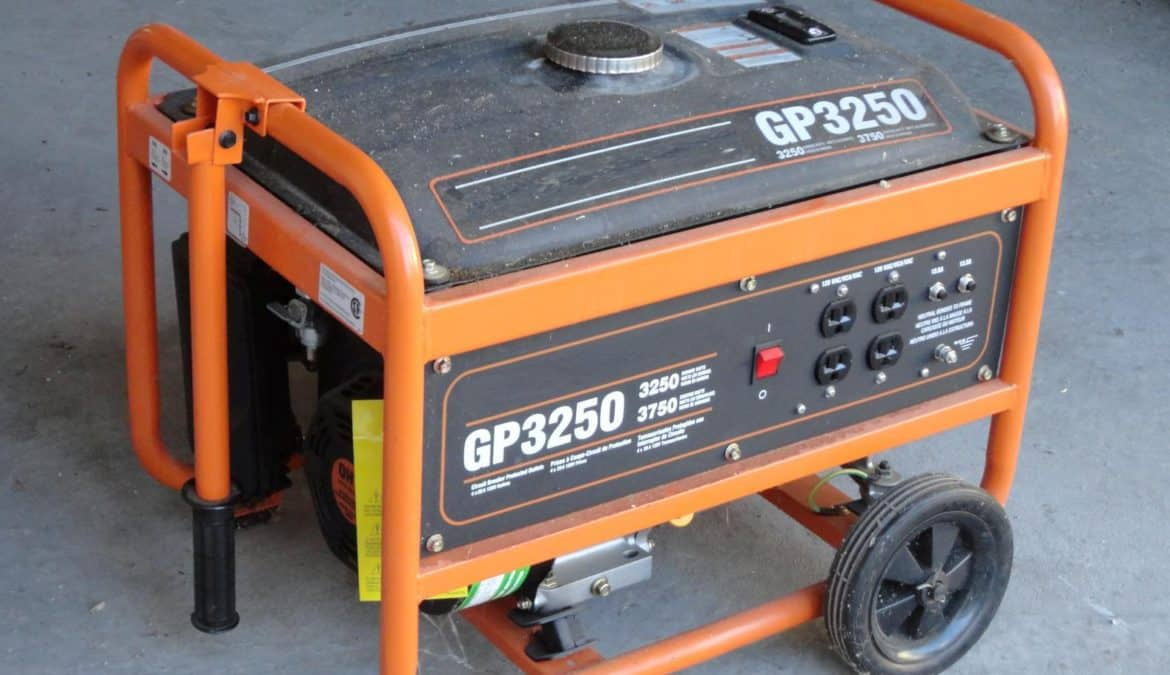 Portable generator safety tips