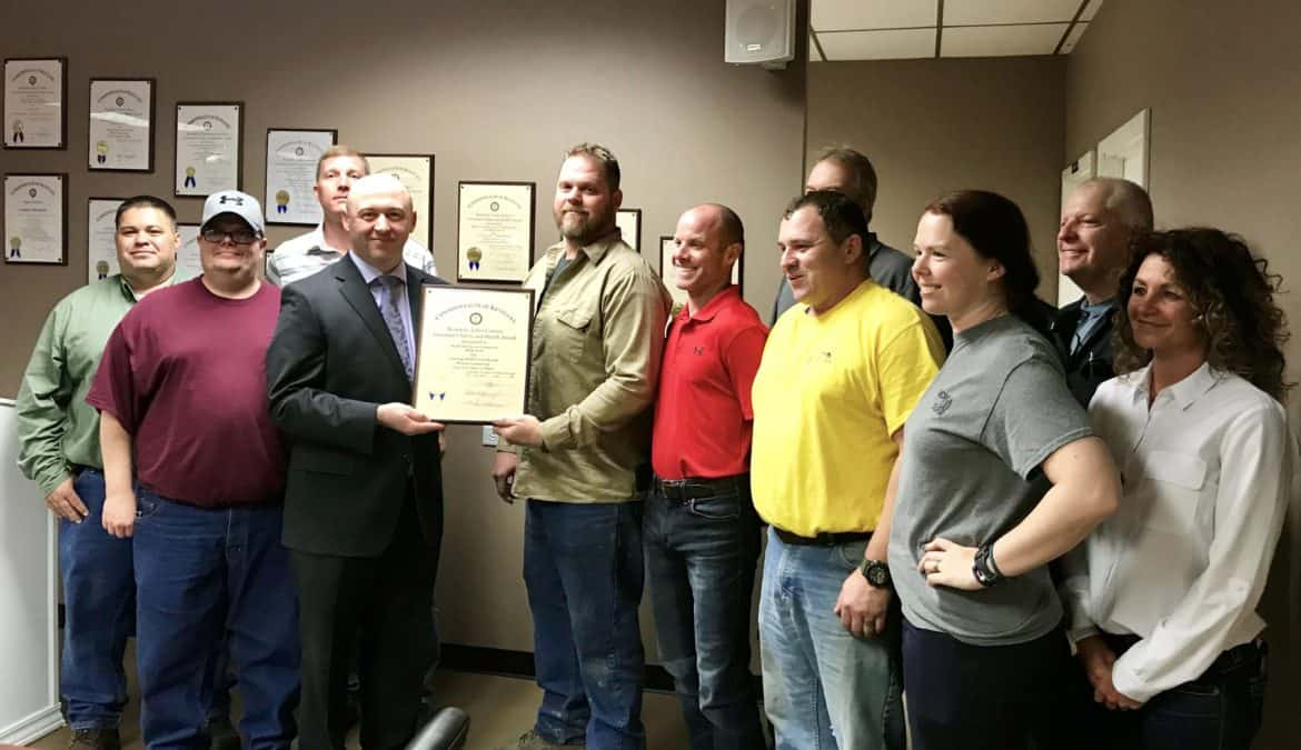 Big Rivers Electric Corporation – Wilson Station receives Governor's Safety and Health Award
