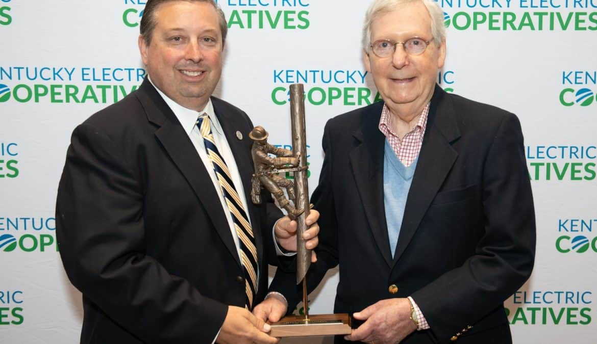 Co-ops honor McConnell as 2019 'Distinguished Rural Kentuckian'
