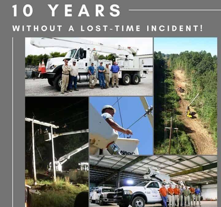 10 year milestone