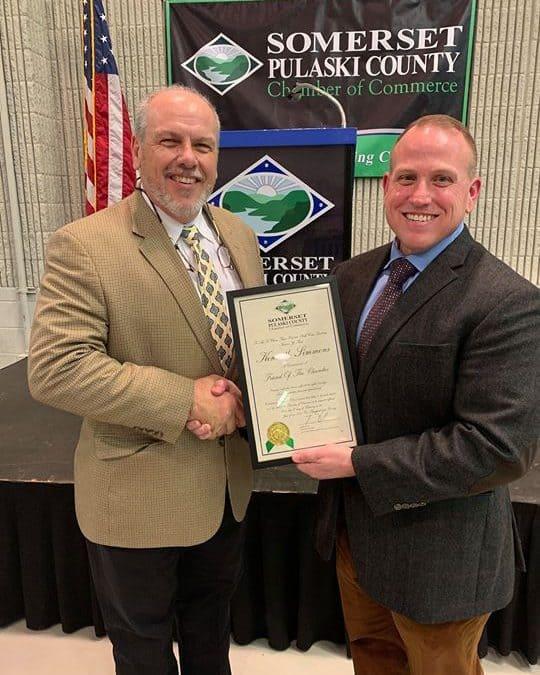 South Kentucky RECC CEO honored