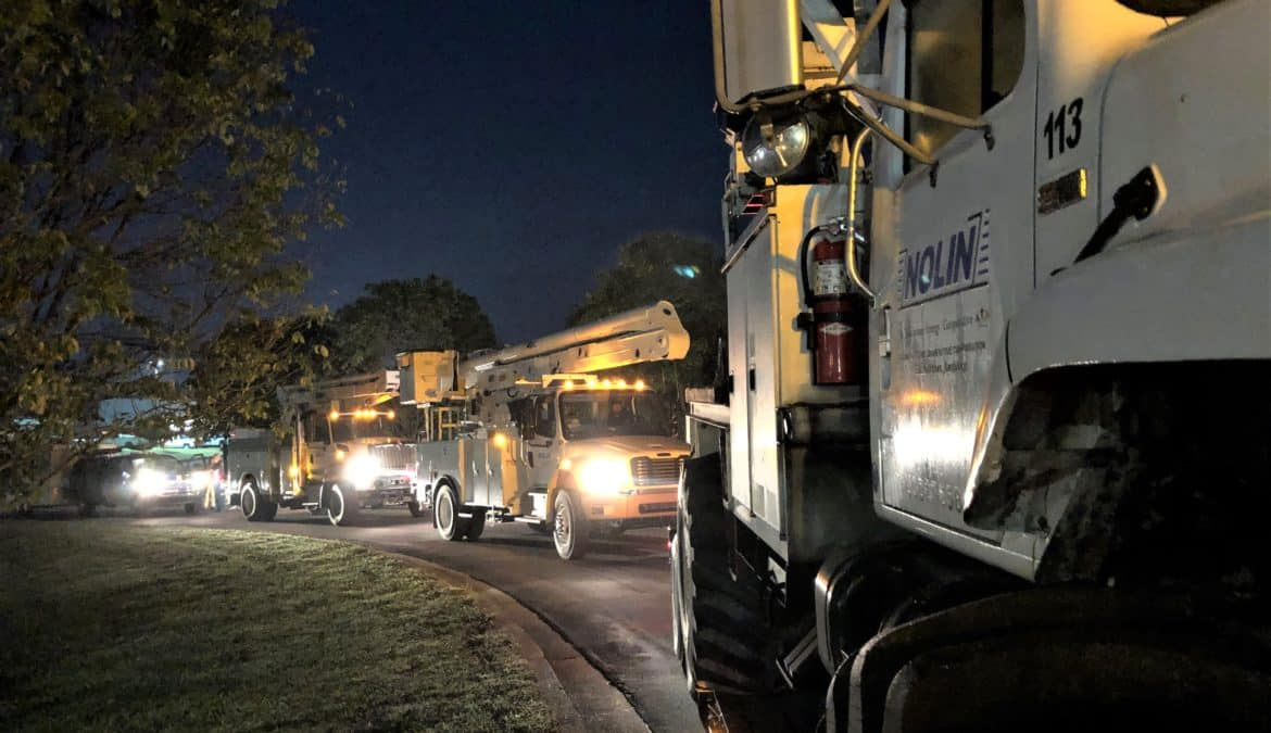 Kentucky electric co-ops deploy 85 workers to help in Hurricane Sally recovery