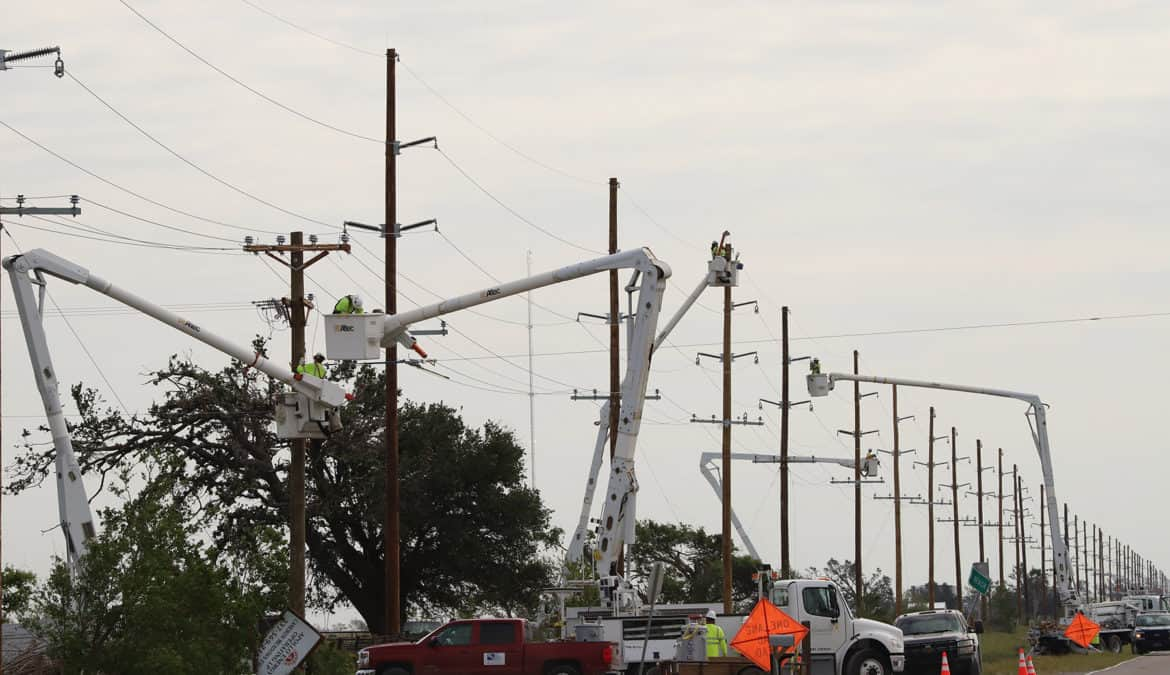 Co-ops Restore Power After Back-to-Back Hurricanes